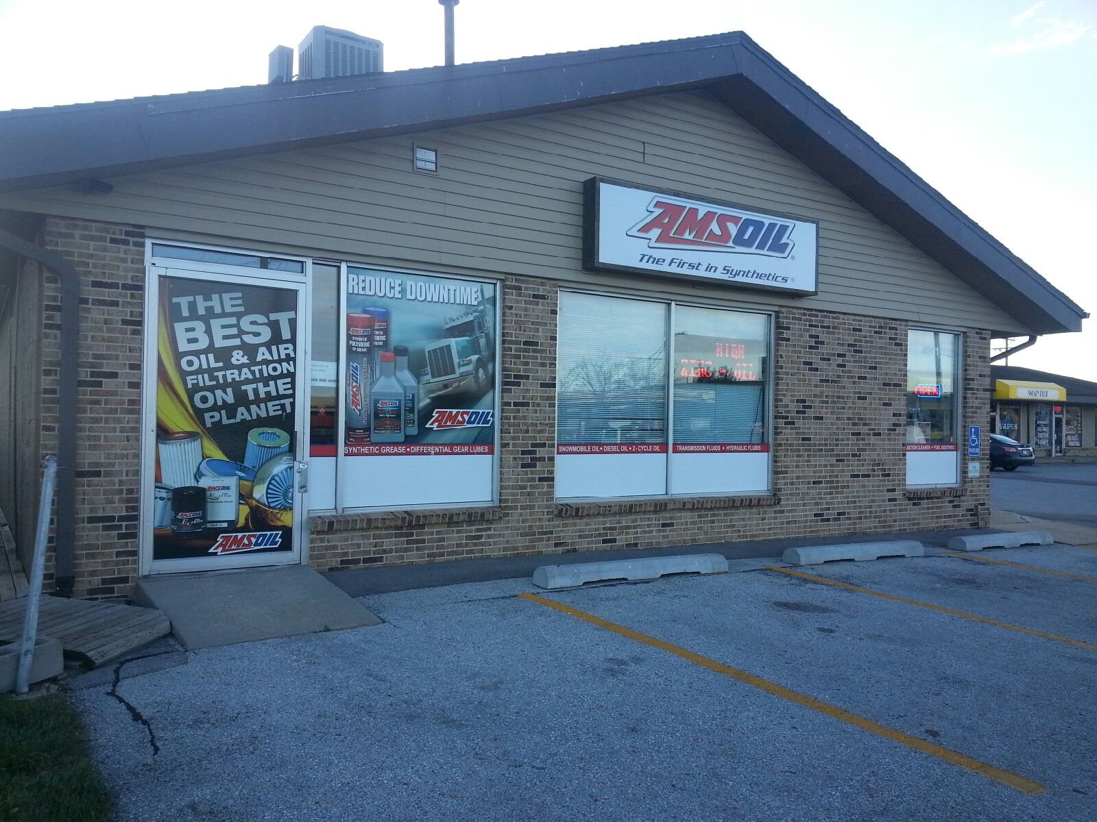 Spread the Word About the Omaha AMSOIL Store