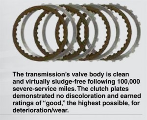 transmission clutch plated free of wear