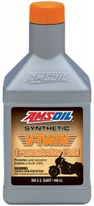 V-Twin Synthetic Transmission Fluid promotes formation of a durable oil film on bearings and gears, helping to dampen loud thunks when shifting and reduce gear noise.