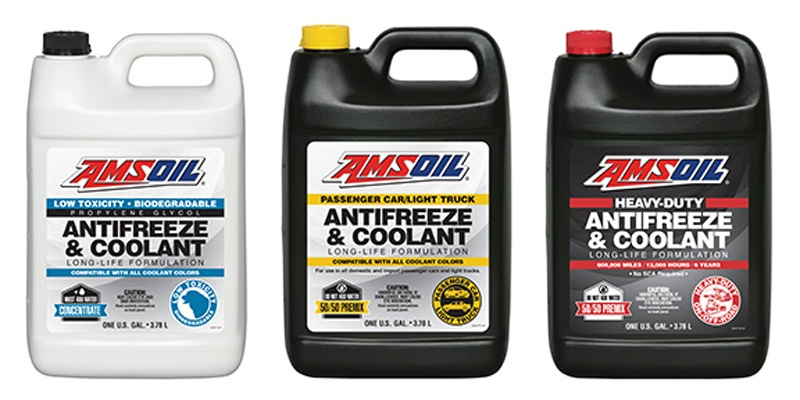 AMSOIL Antifreeze/Coolants – New Products!