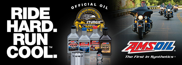 AMSOIL Official Oil of Sturgis – 8 Years