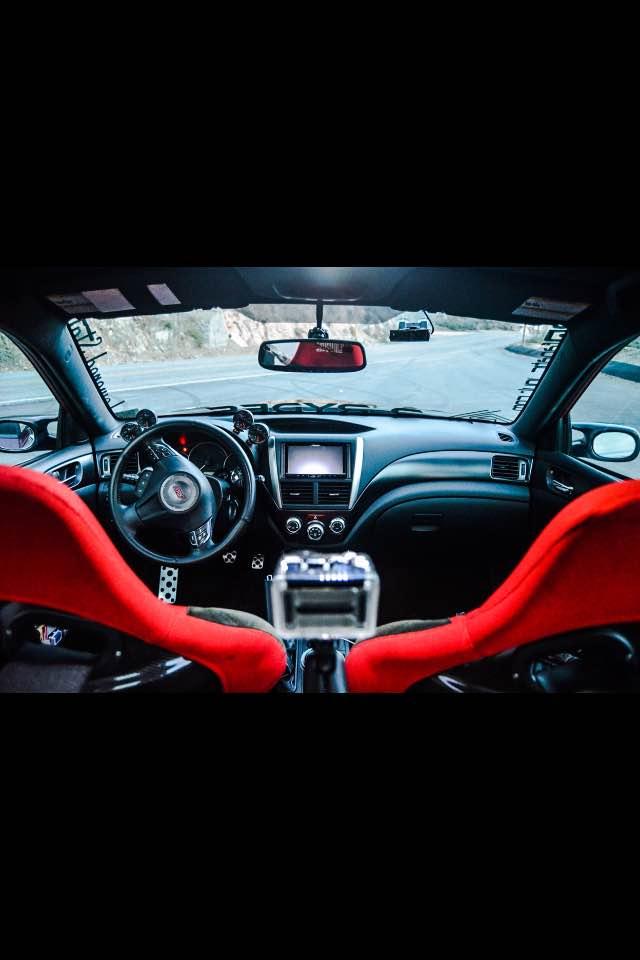 2011 Subaru Impreza STI cockpit