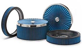 Racing and carburetor cold air intake filters
