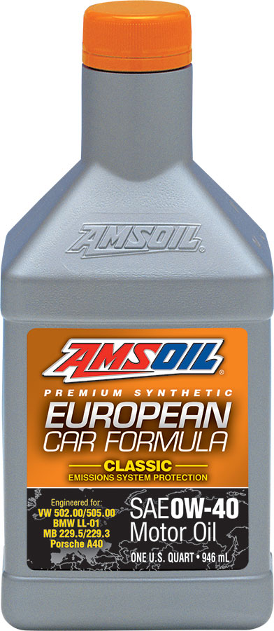 European Car Formula 0W-40 On the Omaha Shelves!