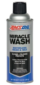 Waterless wash in a can