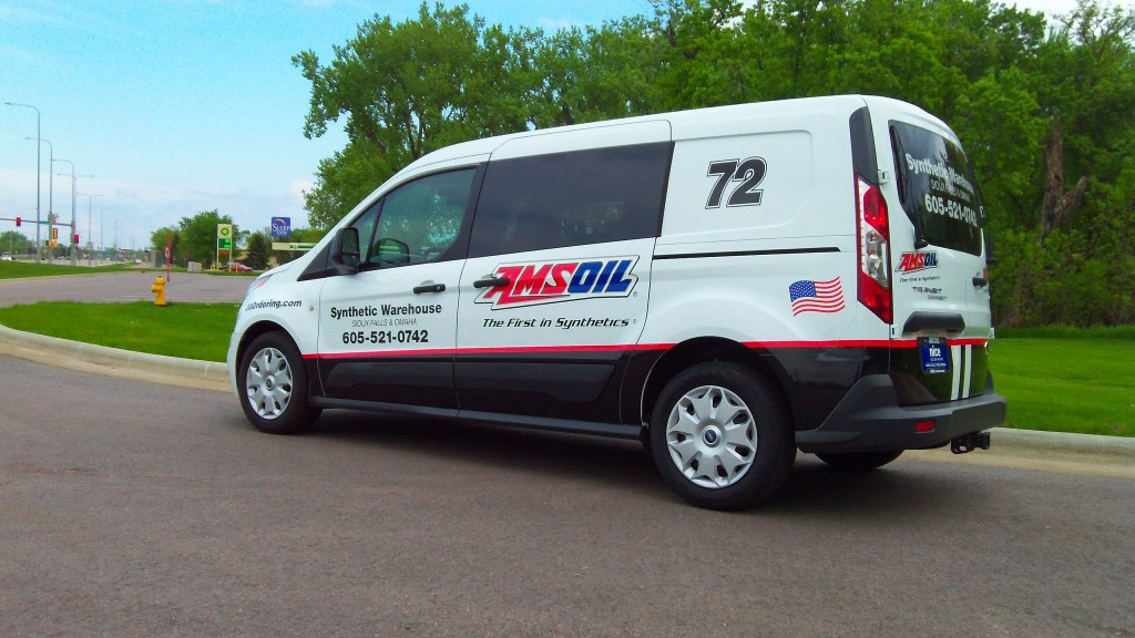 Sioux Falls & Sioux Falls AMSOIL Delivery Van
