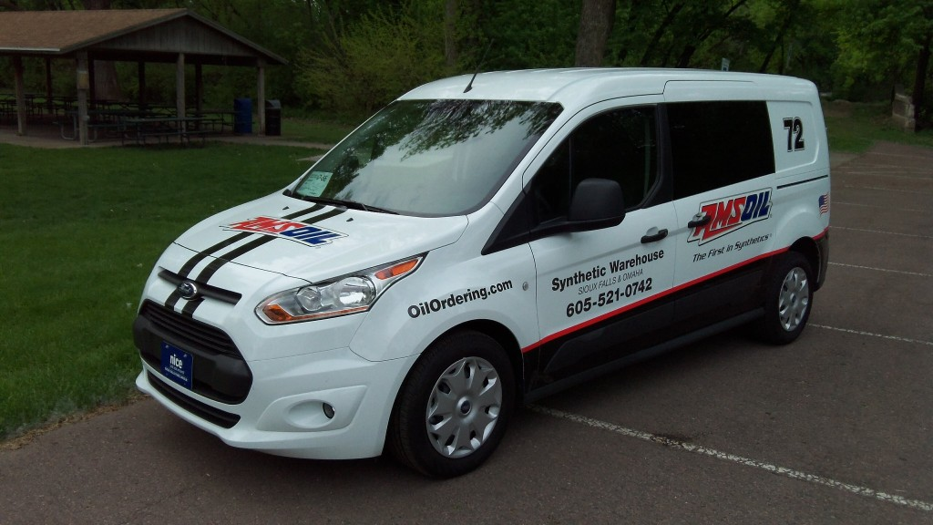 AMSOIL Dealer Vehicle Graphics Van