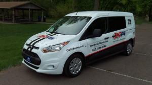 AMSOIL Dealer Vehicle Graphics Van