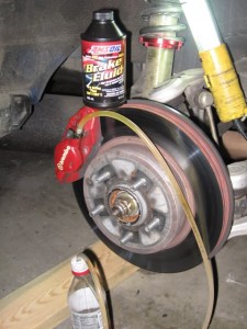 Mitsubishi change over to AMSOIL Brake Fluid