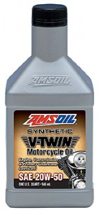 20W-50 synthetic V-Twin Oil