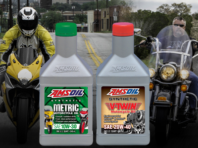 AMSOIL Powersports Dept – Motorcycle Oil Leads the Industry