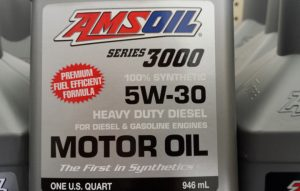 AMSOIL diesel for gas engines