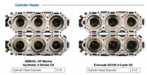 Evinrude Head Deposits and Carbon