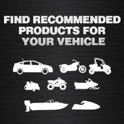 Find products for your vehicle