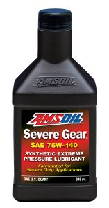 Severe Gear 75W-140 Synthetic Extreme Pressure Lubricant