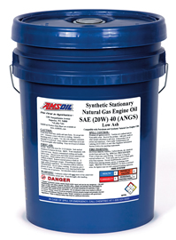 Synthetic Stationary Natural Gas Engine Oil