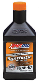 Amsoil Signature Series 0w 40 Synthetic Motor Oil