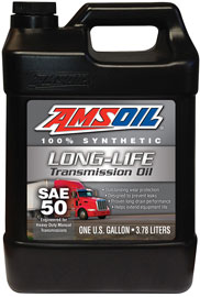 SAE 50 Long-Life Synthetic Transmission Oil
