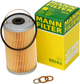 MANN-FILTERS Oil Filters