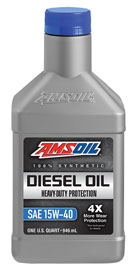 Heavy-Duty Synthetic Diesel Oil 15W-40