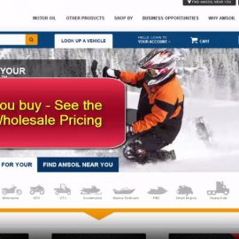 Buy Amsoil at cost.