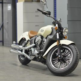 Indian Scout for AMSOIL Test Lab