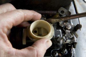 dirty carburetor