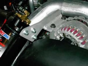 Example of our Ford 6.0 Bypass filter bracket