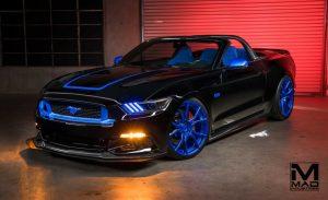 SEMA Mustang