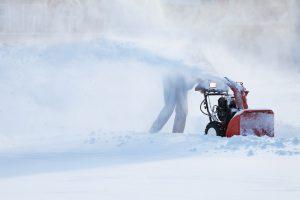 snowblower storage and ready maintenance.