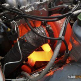 Hot turbo burning