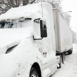 frozen truck has fuel gelling issues