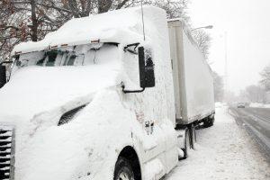 frozen truck has fuel gelling issues