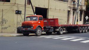 old diesel truck