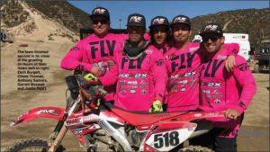 motocross team, Glen Helen Raceway 2017