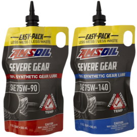 Severe Gear Easy Pack milestone in AMSOIL product line