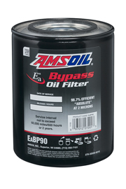 amsoil bypass oil filter 2 micron spin on