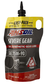 Easy pack - ez squeeze bag simplifies your differential oil change
