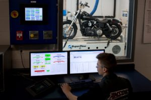 amsoil harley pushed in lab beyond failure
