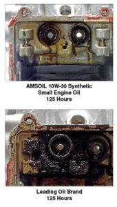 Honda HP4 vs AMSOIL Small engine oil