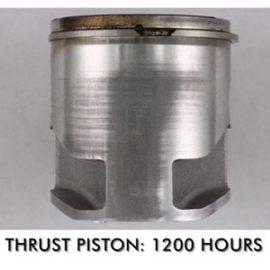 Stihl string trimmer piston clean using AMSOIL Saber 80:1 2 stroke oil