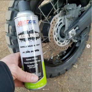 keep off-road tires clean with mudslinger - makes cleanup faster