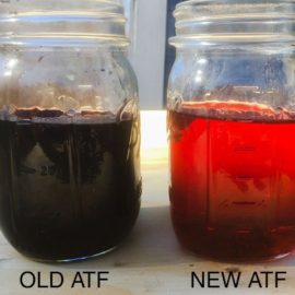 ordinary transmission oils degrade rather quickly