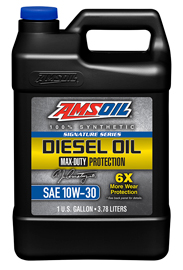 Signature Series Max-Duty Synthetic Diesel Oil 10W-30