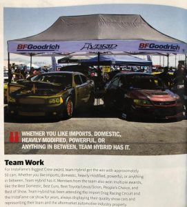DSPORT Magazineshowed its Hybrid Luv (the team's motto)with yet another feature, this time covering its InstaFame game. The team broke records in April after taking home 17 trophies with only a few of its chapters in attendance.