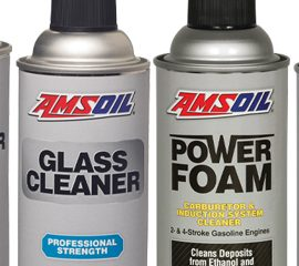 Spray cleaners for grease, glass and grime