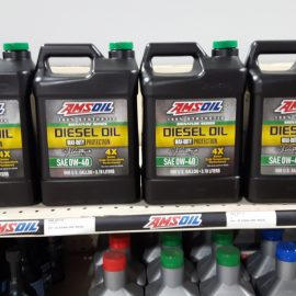 0w-40 solves cold start problems on any diesel