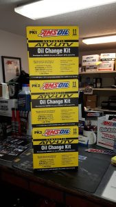 ATV and UTV oil change kits for Polaris
