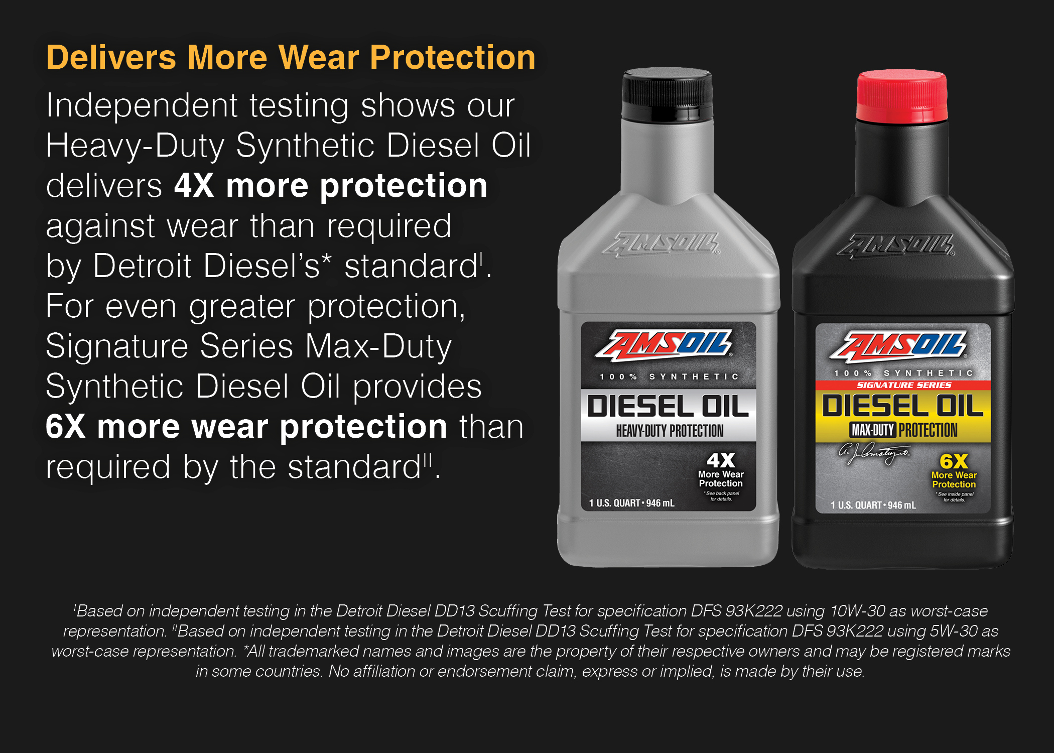 diesel oil choices - Two Tier Performance Levels
