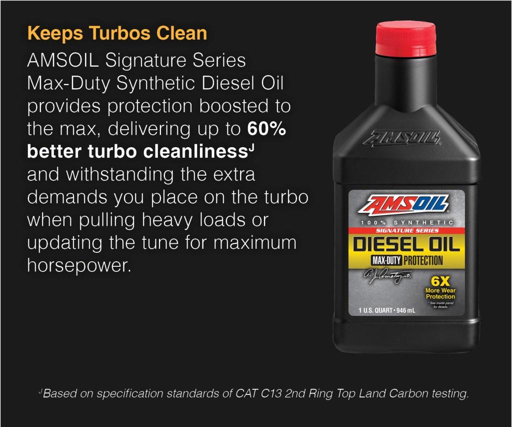 oil to keep turbos clean